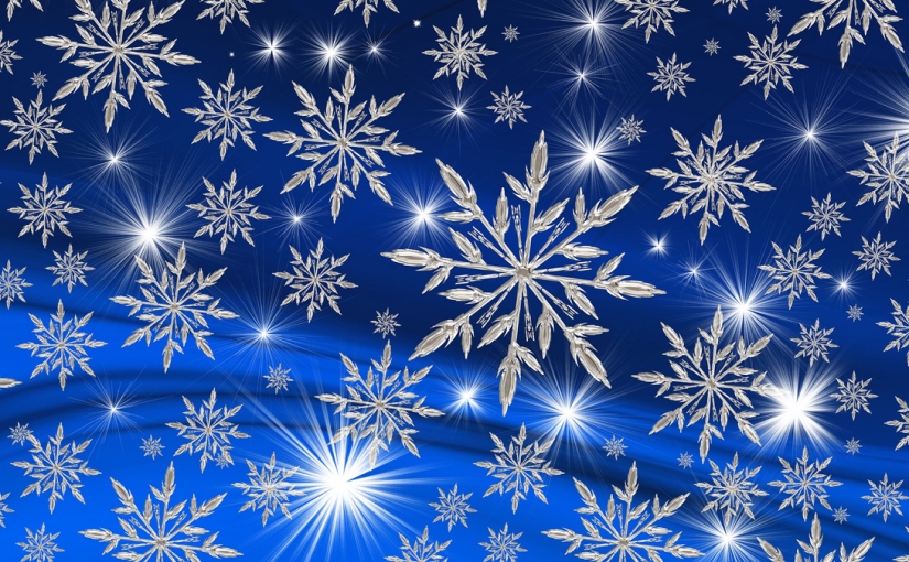 Weather Alert! Snowflakes are out in full force.
