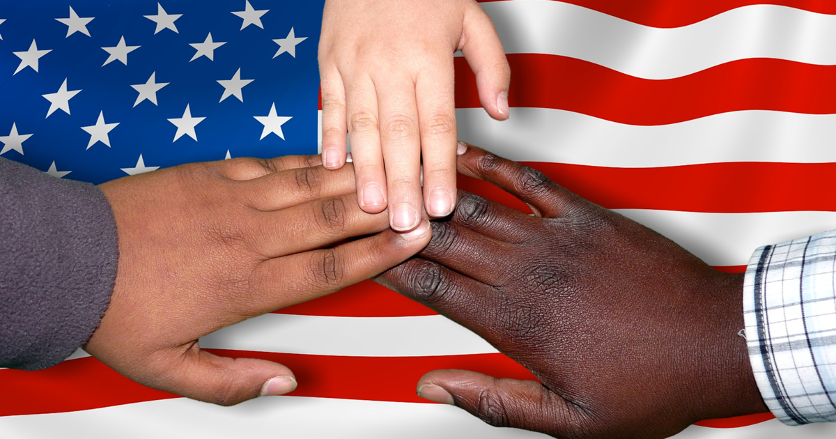 America cannot be a racist country because a country cannot think and feel for itself.