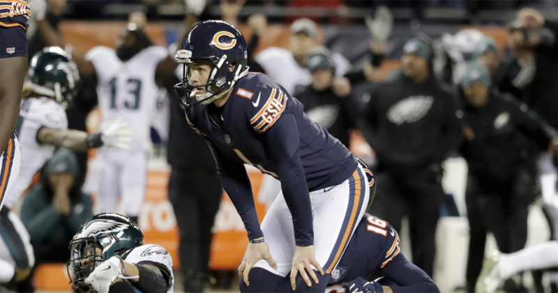 Bears kicker Cody Parkey stands strong in his faith, despite the onslaught of negativity he receives when experiencing setbacks on the football field.